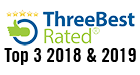 ThreeBestRated Logo Top 3 Roofing Contractors Aurora, ON 2018 & 2019